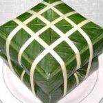 Cách gói bánh chưng xanh cho ngày tết