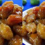 Cách làm mứt cóc chua, cay, ngọt mời khách ngày tết.