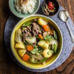 Cách làm Thịt bò hầm khoai tây Nhật Bản - Nikujaga