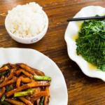 Đồ ăn ít thịt nhiều rau ở Trung Quốc xưa