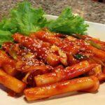 Cach nấu món Bánh gạo tteokbokki cay kiểu Hàn Quốc