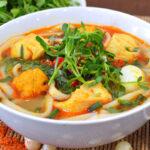 Cách nấu món cháo canh Quảng Bình