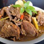 Cách nấu món Ngan giả cầy Nghệ an.