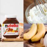 Cách làm món kem chuối nutella ngọt ngào và đơn giản tại nhà
