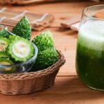 Cách làm nước ép khổ qua giảm cân, đẹp da, tốt cho sức khỏe.